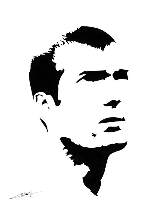 Zinedine Zidane by Lwize